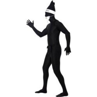 Skin suits zwarte kerstman