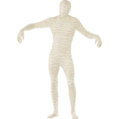 Skin suit gewikkelde mummy