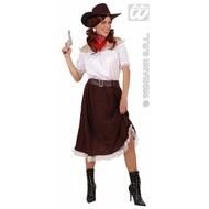 Carnavalskostuum Cowgirl jurk