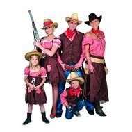 Cowgirl carnavalskleding