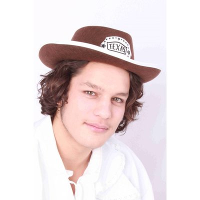 Cowboy hoeden met Texas logo