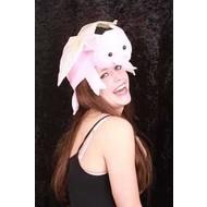 Partyhoedje Flying Piggy