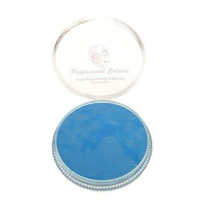 Grimeer en schmink op waterbasis licht blauw