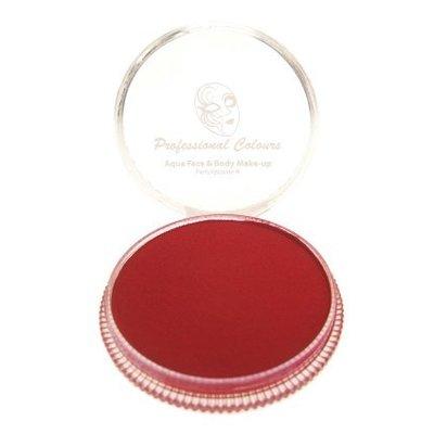 Grimeer en schmink op waterbasis rood