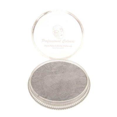 Grimeer en schmink op waterbasis zilver