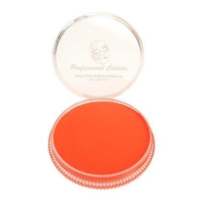 Grimeer en schmink op waterbasis fluor oranje