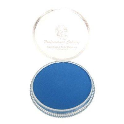 Grimeer en schmink op waterbasis fluor blauw