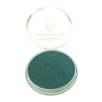 Grimeer en schmink op waterbasis metalic groen