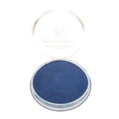 Grimeer en schmink op waterbasis metalic blauw