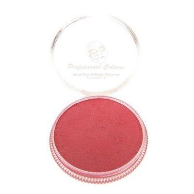 Grimeer en schmink op waterbasis metalic rood