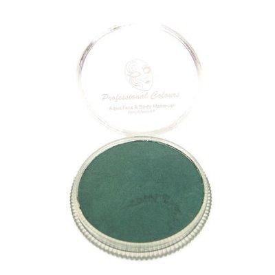Grimeer en schmink op waterbasis metalic midden groen