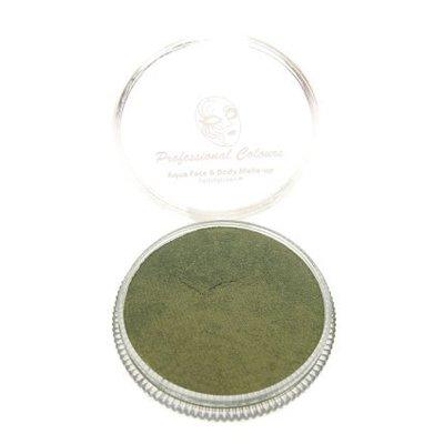 Grimeer en schmink op waterbasis metalic warm groen