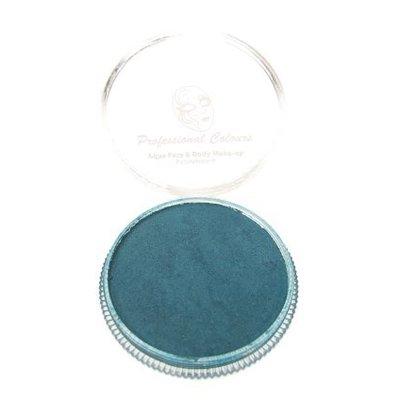 Grimeer en schmink op waterbasis metalic blauwgroen