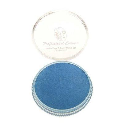 Grimeer en schmink op waterbasis metalic licht blauw