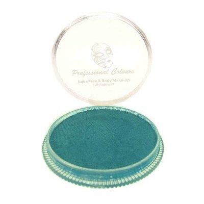 Grimeer en schmink op waterbasis metalic helder blauw