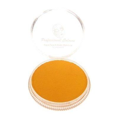 Aqua pastel schmink oranje