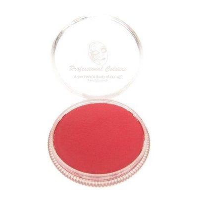 Aqua pastel schmink rood