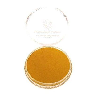 Grimeer en schmink op waterbasis metalic oker geel