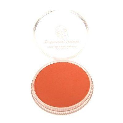Aqua pastel schmink helder rood