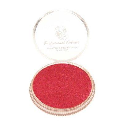 Grimeer en schmink op waterbasis metalic helder rood