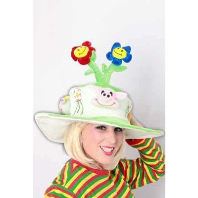 Flora & Fauna fleurige hoeden
