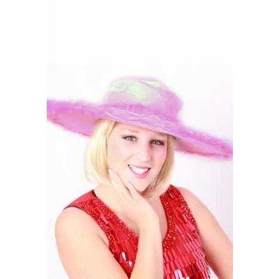 Roze pimphoeden voor dames