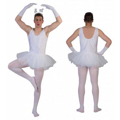Vrijgezellen feestkleding: Ballerina man