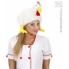 Party-kleding: Kippenmutsen