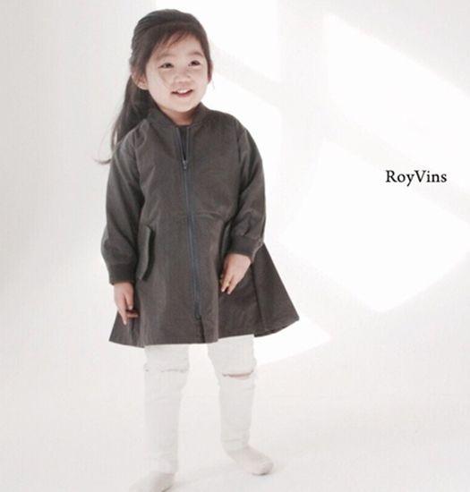 ROY & VINS - Zomerjas donkergrijs meisjes