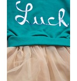 LILAS - Jurkje 'Luck' met sweater en tule