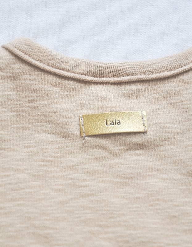 LALA - Boxpakje leeuw met slabbetje - unisex