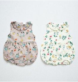 MINI DRESSING - Baby bloemen romper