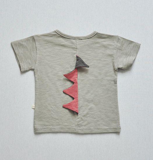 LULU - Dinosaurus kinder t-shirt