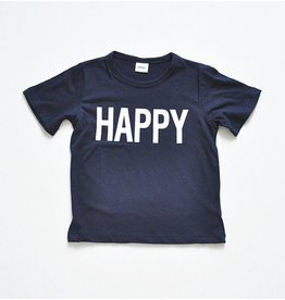 WHITESKETCHBOOK - Unisex T-shirt HAPPY