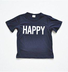 WHITESKETCHBOOK - Unisex T-shirt HAPPY