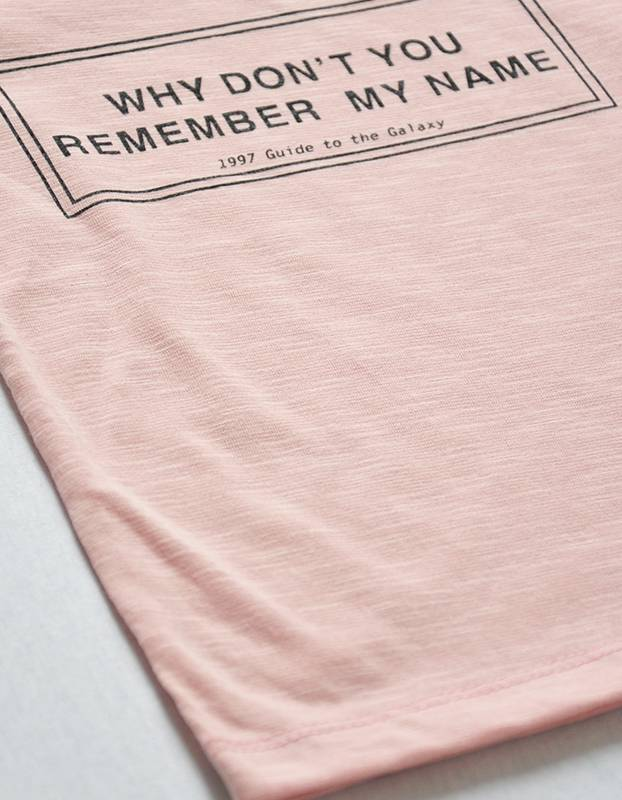 WHITESKETCHBOOK - Unisex t-shirt met tekst