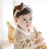 HAPPY PRINCE - Baby haarband - gehaakt