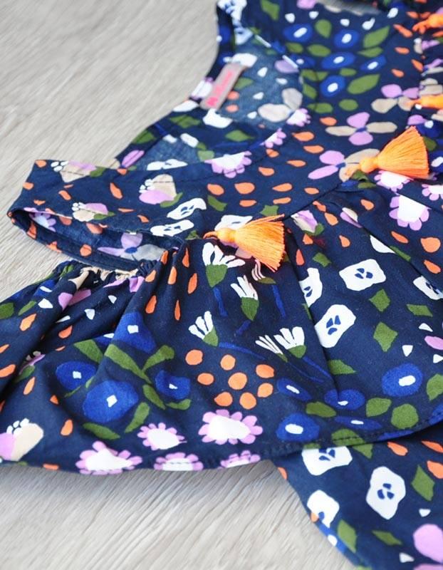 BONNE - jurkje met cut out schouder