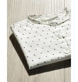 FITH MAY - Overhemd wit met zwarte sterretjes