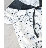 FITH MAY - Jurkje monochroom zwart/wit