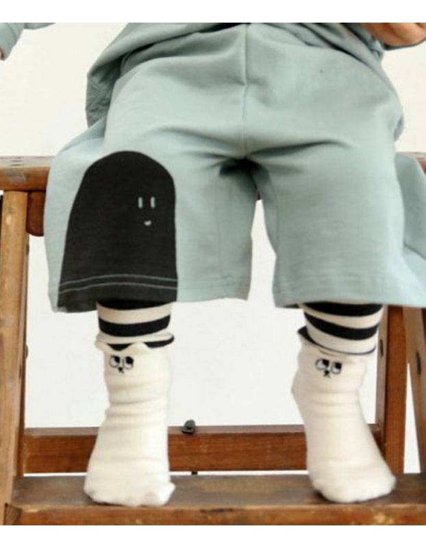 MINI DRESSING - Baby sokken konijn 2-pak met antislip
