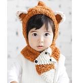 HAPPY PRINCE - Handgemaakte kindersjaal vos