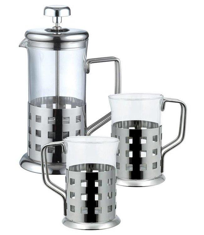 Renberg Koffie-/ theeset 3 delig.