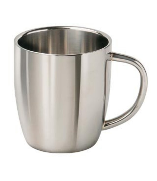 "RVS Cappuccino beker 0,3 Liter ""Luigi"""