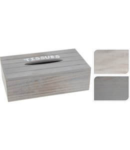 Tissuebox hout