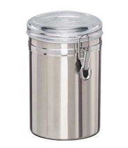 RVS Voorraadblik 1,8 liter