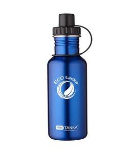 ECOtankas™ Mini Tanka 0.6 Liter blauw met sport sluiting
