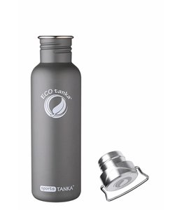 "ECOtankas™ Sport Tanka 0.8 Liter met RVS sluiting ""Wave"""