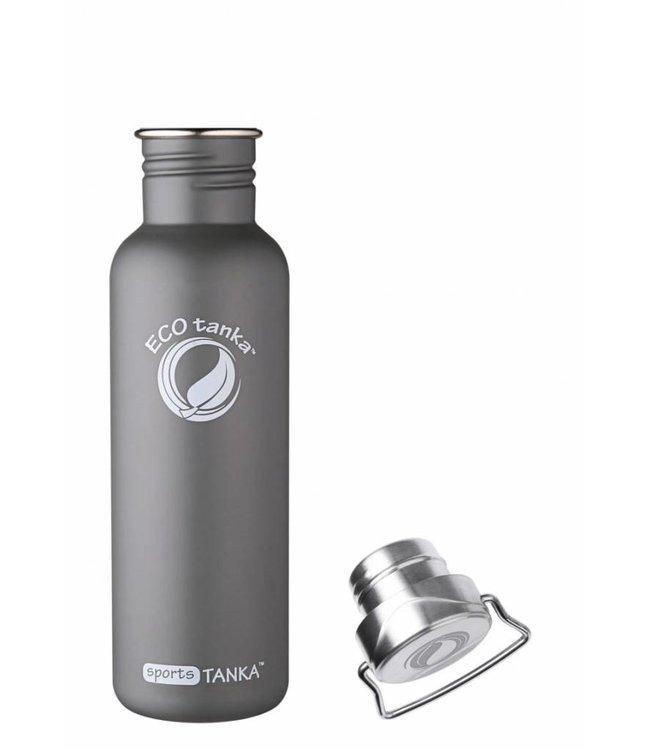 "ECOtankas™ ECOtanka Sport Tanka 0.8 Liter met RVS sluiting ""Wave"""