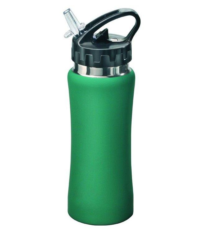 "Mato RVS Bidon groen ""Sporty"" 0,5 liter"